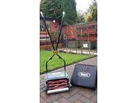 Webb Manual Lawn Mower in quality condition. Only used 7 times and is in perfect working order.