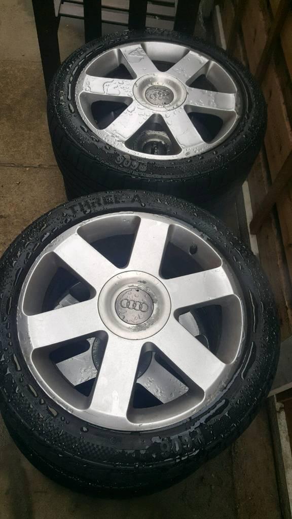 """Audi 5x112 x 17"""" alloys"""