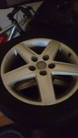 """Audi alloys and tyres 17"""""""