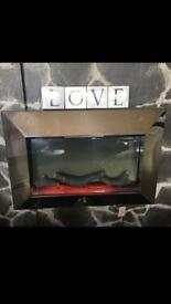 Wall fire