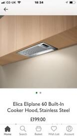 Elica Eliplane 60 integrated Extractor Fan