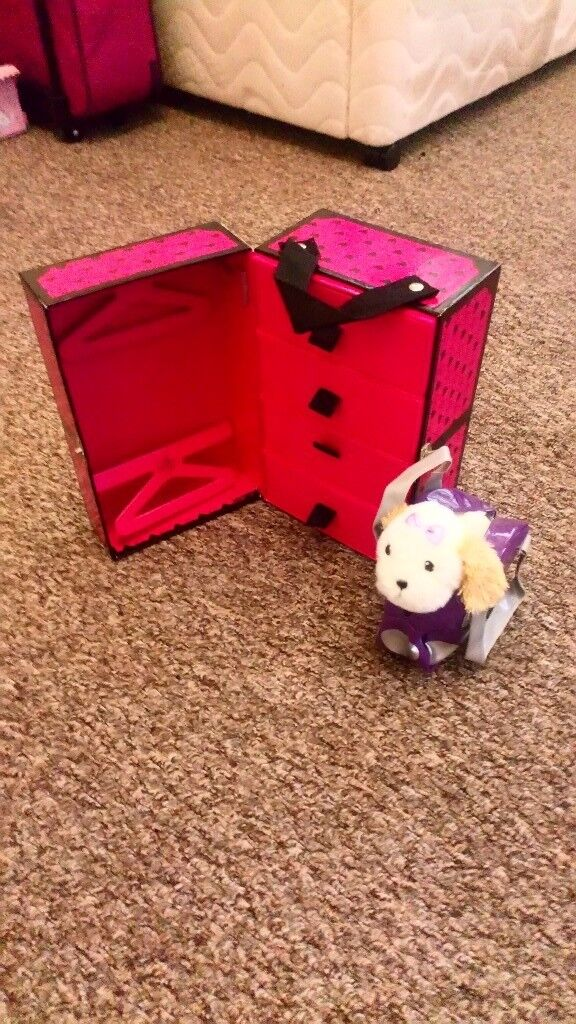 Designer friend accessorie case and dog and bag excellent condition I