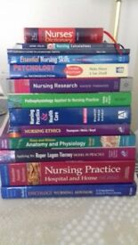 SELECTION OF STUDENT NURSE TEXT BOOKS
