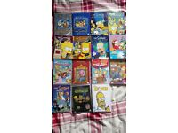 Selection of The Simpsons DVDs / Boxsets
