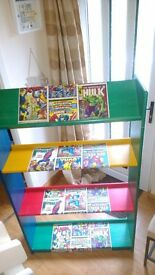 Retro Marvel bookcase