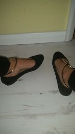 size UK 4 Ladies shoes for sale.