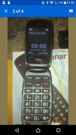 BIG BUTTONS Phone Like Doro TTfone Lunar TESCO Network SHOP CONDITION