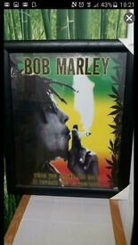 Bob Marley Picture Frame