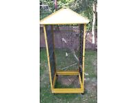 a bird cage