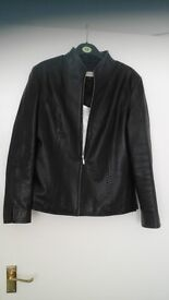 Leather Jacket Size 12