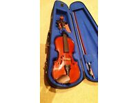 Stentor Student 2 Violin (1/2 size) Excellent Condition with Case,Chin Cushion and Rosin