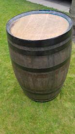 Refurbished whisky barrel