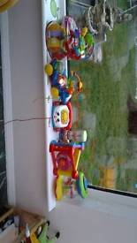 Baby toys. Bundle of 8