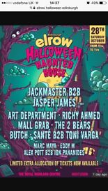 Elrow Halloween party tickets for sale
