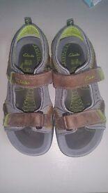 Boys Clarks sandals. Size 13.5