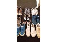 Mens trainers size 8-9 new and used