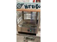 Lincat UMS50 Heated Food Merchandiser/Counter Top Hot Food Display warmer/Catering Equipment