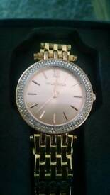 Ladies Watch by Taylor Cole Rose Gold & Diamonte Stones BNIB