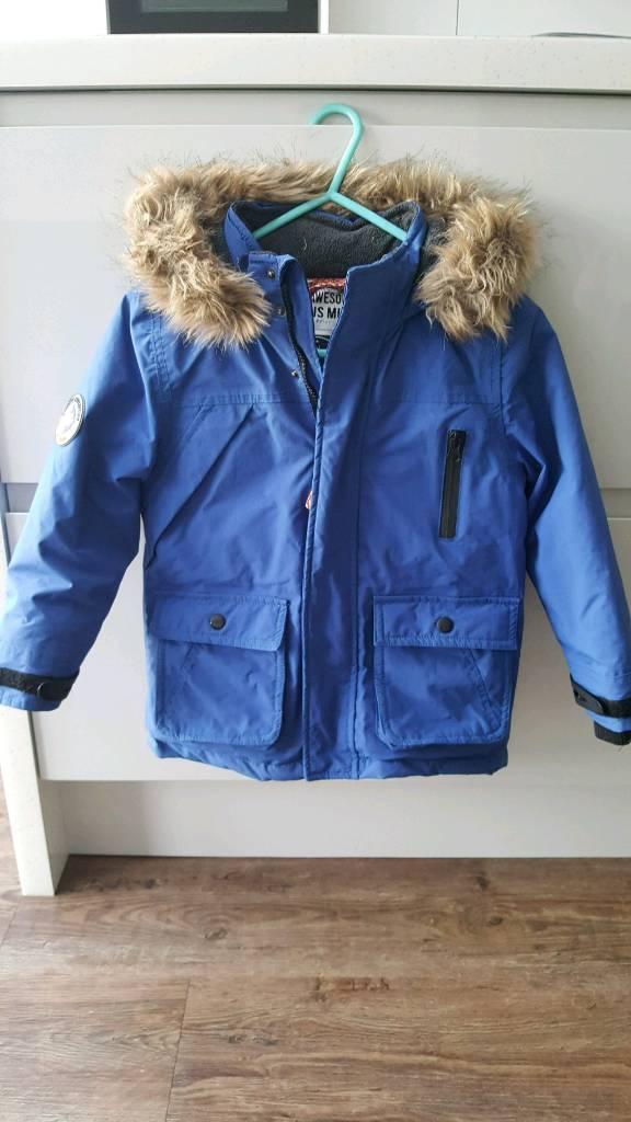 Boys winter coat age 5