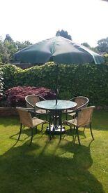 Hartman garden furniture set