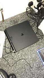 PS4 slim 1TB with infinite warfare