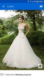 Kathy Ireland wedding dress size 10