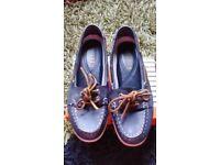 Ralph lauren boat shoes size 5 VGC