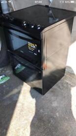 Zanussi Avanti ZCV680TCBA Electric Cooker with Ceramic Hob - Black - A/A Rated