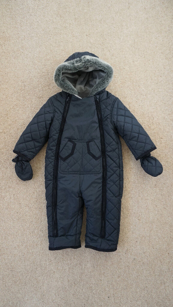 Mothercare Navy Snowsuit Coat