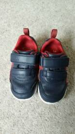 Toddler Boys Trainers from Clarks. Size 5G.