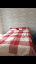 Reversible bedding set red