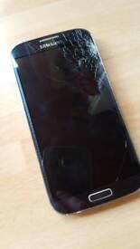 Samsung galaxy S4 - broken screen, spares or repair