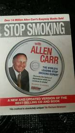 STOP SMOKING WITH ALLEN CAR BOOK & DVD