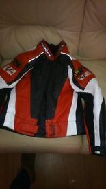 Motorbike full leathers 2 piece