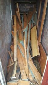 Free wood for collection - perfect for bonfire night!