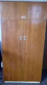 Double door pine cupboard