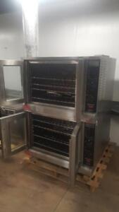 DOUBLE STACK ELECTRIC CONVECTION OVENS ( MINT CONDITION )