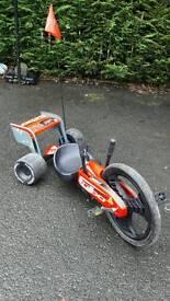 Kids Go Kart Turbo Twist 360