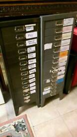 Steel Multi Drawer Filing or Tool Storage Cabinets