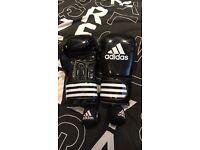 Adidas 14oz boxing gloves