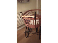 Vintage style Crib/Pram (full size baby's crib)