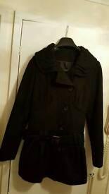Topshop coat size 10 mint condition