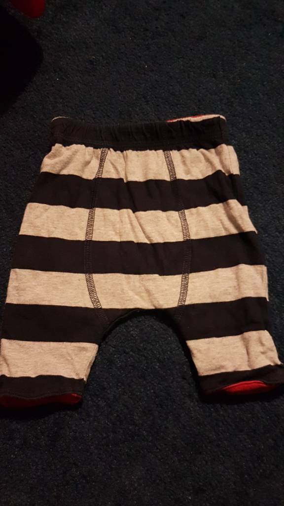 NEXT stripy jogging bottoms up to 1 month