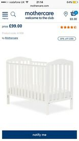 Mothercare Cot with mattress