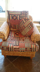 Top quality wicker chair.