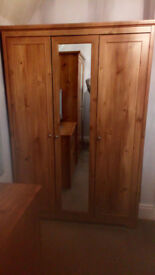 2 x Ikea wardrobes in good condition, will sell individually or as a pair.