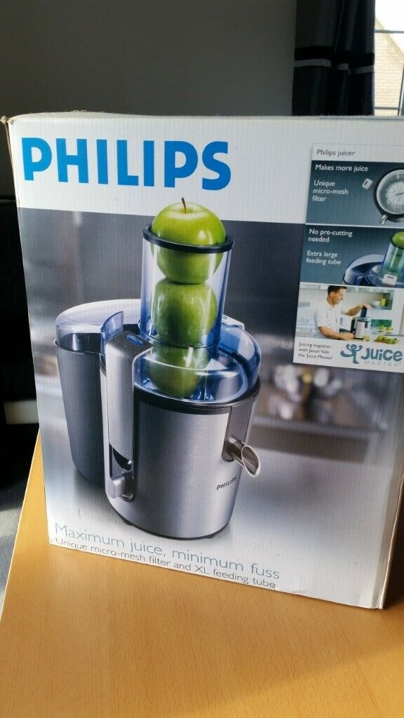 Philips Hr1861 Whole Fruit Juicer Juice Extractor 40 Rrp 120