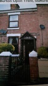 Terrace house for sale, Burton-On-Trent