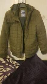 BOYS KHAKI COAT