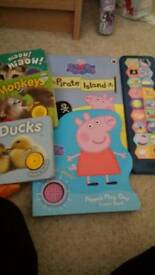 Sound books Peppa pig
